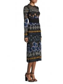 Yigal Azrou  235l - Embroidered Lace Dress at Saks Off 5th