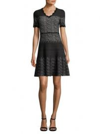 Yigal Azrou l - Snakeskin-Print Wool Dress at Saks Fifth Avenue