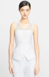 Yigal Azrouand235l Ottoman Peplum Top at Nordstrom