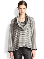 Yigal Azrouel - Boucl Cowlneck Sweater at Saks Fifth Avenue