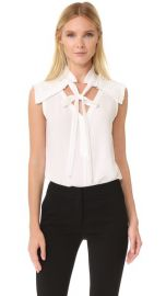 Yigal Azrouel Center Front Tie Top at Shopbop