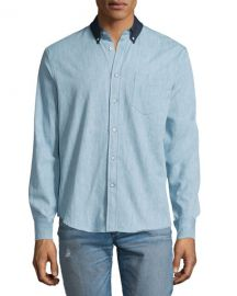 Yokohama Long-Sleeve Chambray Shirt by Rag and Bone at Neiman Marcus