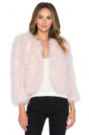 Yumi Kim Away We Go Faux Fur Feather Jacket at Revolve