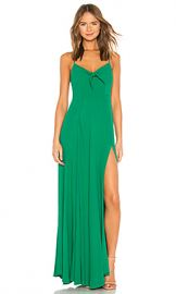 Yumi Kim Watch Me Maxi Dress in Solid Green from Revolve com at Revolve
