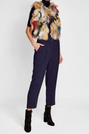 ZADIG & VOLTAIRE Fox Fur Vest at Stylebop