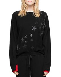 ZADIG  VOLTAIRE GABY BIS CASHMERE SWEATER at Bloomingdales
