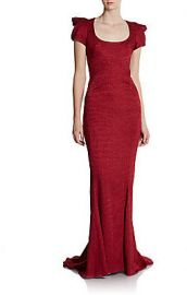 Zac Posen Structured Gown at Saks Off 5th