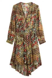 Zadig & Voltaire Printed Silk Dress at Stylebop