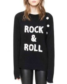 Zadig  amp  Voltaire Reglia Bis Cashmere Sweater at Bloomingdales