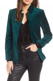 Zadig  amp  Voltaire Volly Velours Blazer at Nordstrom