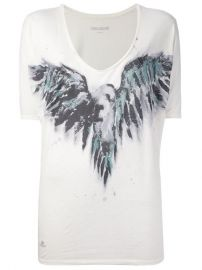 Zadig andamp Voltaire Printed T-shirt - at Farfetch