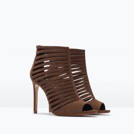 Zara Multi-strap High Heel Sandal at Zara