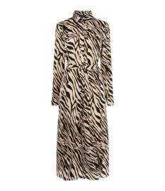 Zebra Print Shirt Dress at Karen Millen