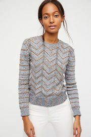 Zig Zag Pullover at Free People