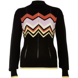 Zig Zag Sweater at River Island