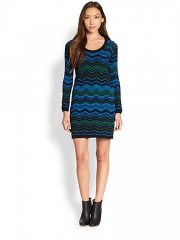 Zig zag dress by M Missoni at Saks Fifth Avenue