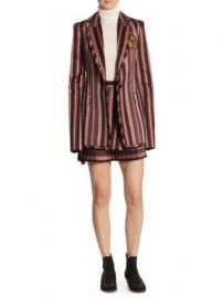 Zimmermann - Folly Uniform Stripe Blazer at Saks Fifth Avenue