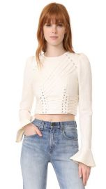 Zimmermann Cavalier Tie Up Blouse at Shopbop