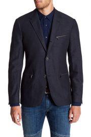 Zip Pocket Blazer by John Varvatos Star USA at Nordstrom Rack