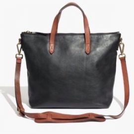 Zip Top Transport Tote at Madewell