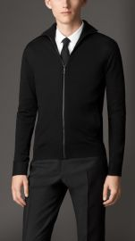 Zip front cardigan at Burberry