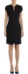 Zip front dress by L Agence at Barneys