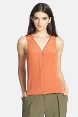 Zip neck tank at Nordstrom Rack