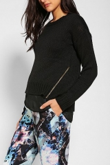 Zip sweater by Sparkle and Fade at Urban Outfitters