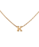 Zoe Chicco initial necklace at Max & Chloe