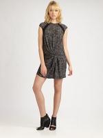 Zoe Harts leopard dress at Saks at Saks Fifth Avenue
