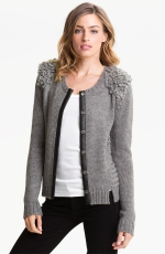 Zoe's grey cardigan at Nordstrom at Nordstrom