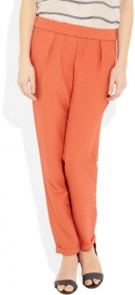 Zoe's orange pants at Net A Porter