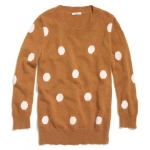 Zoes polka dot sweater at Madewell