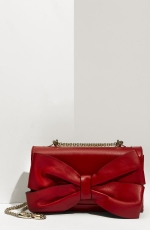 Zoes red bow purse at Nordstrom