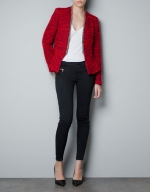 Janes red jacket from Zara at Zara