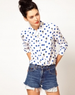Zoes shirt in white at Asos