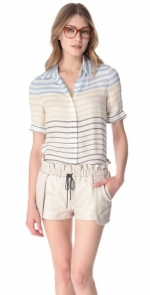 Zoes striped blouse at shopbop at Shopbop