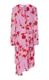 Zuma Asymmetrical Midi Dress by Cynthia Rowley at Orchard Mile