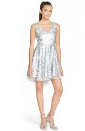 a drea Sequin Fit andamp Flare Dress at Nordstrom