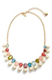 a new hue collar necklace at Kate Spade