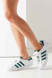 adidas Green Superstar Sneaker in Green at Urban Outfitters