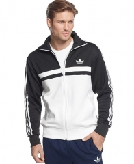 adidas Jacket Originals adi-icon Track Jacket in black at Macys