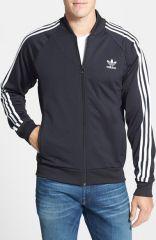 adidas Originals and39Superstarand39 Slim Fit Track Jacket at Nordstrom
