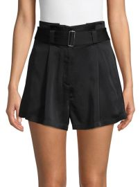alc Deliah Belted Shorts at Saks Off 5th