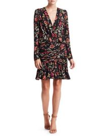 alc HAVEN SILK FLORAL DRESS at Saks Fifth Avenue