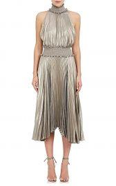 alc Kravitz Lamé Halter Dress at Barneys