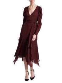 alc Tianna Wrap Dress at Saks Fifth Avenue