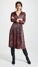 alice   olivia Abigail Wrap Dress at Shopbop