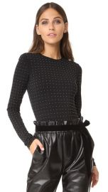 alice   olivia Britney Studded Bodysuit at Shopbop