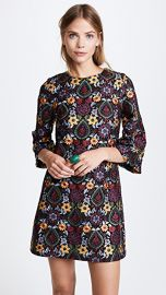alice   olivia Coley Bell Sleeve Dress at Shopbop